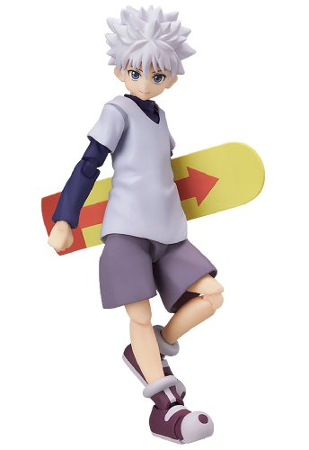 Image 1 for Hunter x Hunter - Killua Zoldyck - Figma #182 (Max Factory)