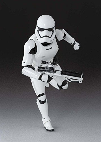 Image 3 for Star Wars - Star Wars: The Force Awakens - First Order Stormtrooper - S.H.Figuarts (Bandai)