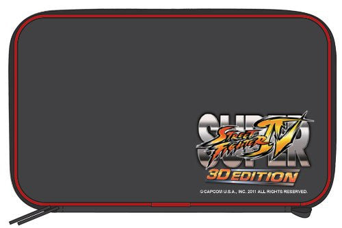 Image 2 for Super Street Fighter IV 3D Edition Pouch 3DS (Black)