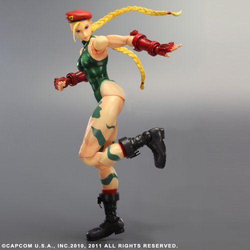 Image 2 for Super Street Fighter IV: Arcade Edition - Cammy - Play Arts Kai (Square Enix)