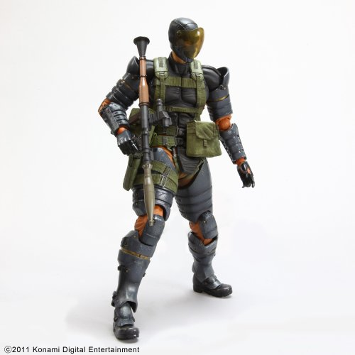 Image 4 for Metal Gear Solid Peace Walker - Naked Snake - Play Arts Kai - Battle Dress (Square Enix)