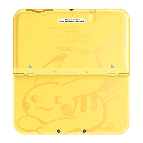 Image 4 for New Nintendo 3DS LL Pikachu Yellow - Pokemon Sun Set (incl. Pouch)