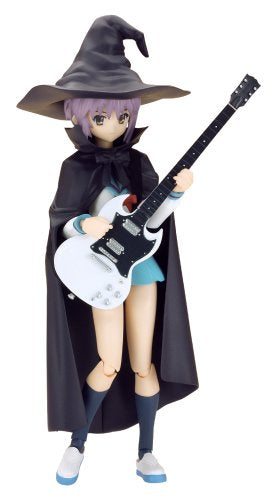 Image 1 for Suzumiya Haruhi no Yuuutsu - Nagato Yuki - Figma #015 - Evil Witch, School Uniform (Max Factory)