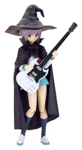 Image for Suzumiya Haruhi no Yuuutsu - Nagato Yuki - Figma #015 - Evil Witch, School Uniform (Max Factory)