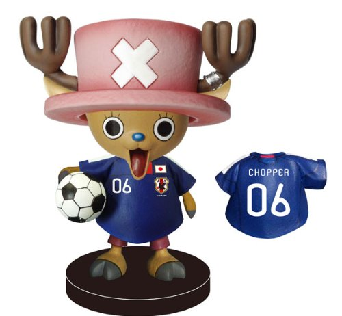 Image 1 for One Piece - Tony Tony Chopper - Bobblehead - Japan National Football Team Ver. (Plex)