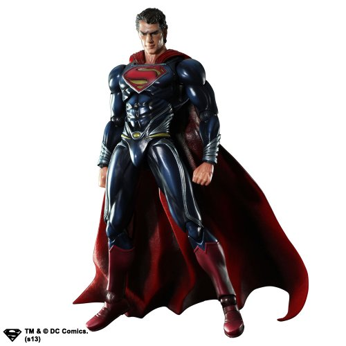 Image 1 for Man of Steel - Superman - Play Arts Kai (Square Enix)