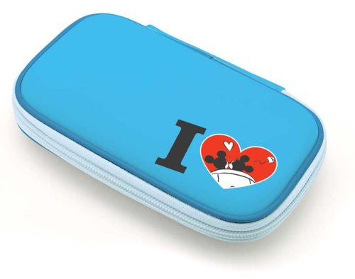 Image 2 for Disney Character Hard Pouch DSi (Minnie Blue)