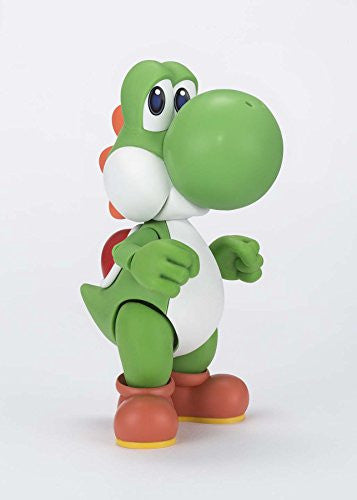 Image 2 for Super Mario Brothers - Yoshi - S.H.Figuarts (Bandai)