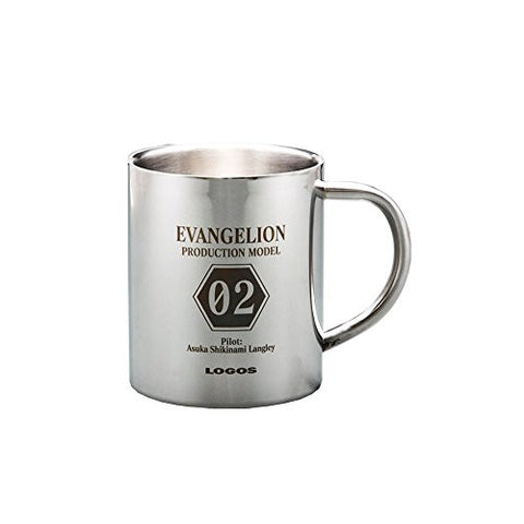 Image for Evangelion Shin Gekijouban - Souryuu Asuka Langley - Eva x Logos - Mug (Eichi Co., Ltd)