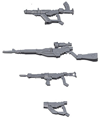 Gundam Build Fighters GM no Gyakushuu - HGBC - GM/GM Weapons Set - 1/144 (Bandai)