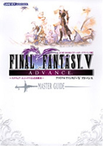 Image 1 for Final Fantasy V Advance Master Guide V Jump Book / Gba