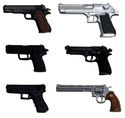 Image for 1/12 Realistic Weapon Series GUN-1 - Realistic Handgun - 1/12 (Platz)