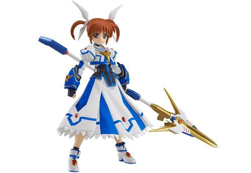 Image 1 for Mahou Shoujo Lyrical Nanoha The Movie 2nd A's - Takamachi Nanoha - Figma #185 - Excelion Mode ver. (Max Factory)