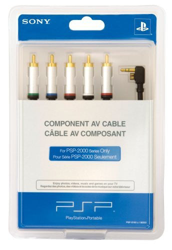 PSP PlayStation Portable Component AV Cable