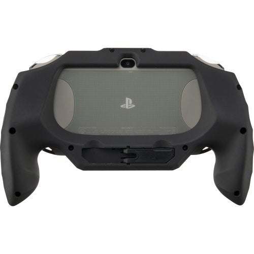Image 3 for Rubber Coat Grip for PlayStation Vita Slim (Black)