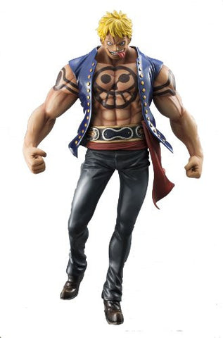 "Image for One Piece - Bellamy the Hyena - Excellent Model - Portrait Of Pirates ""Sailing Again"" - 1/8 (MegaHouse)"