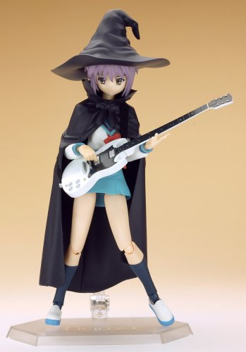 Image 8 for Suzumiya Haruhi no Yuuutsu - Nagato Yuki - Figma #015 - Evil Witch, School Uniform (Max Factory)