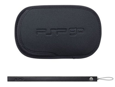 Image for PSP PlayStation Go Pouch & Strap (Black)