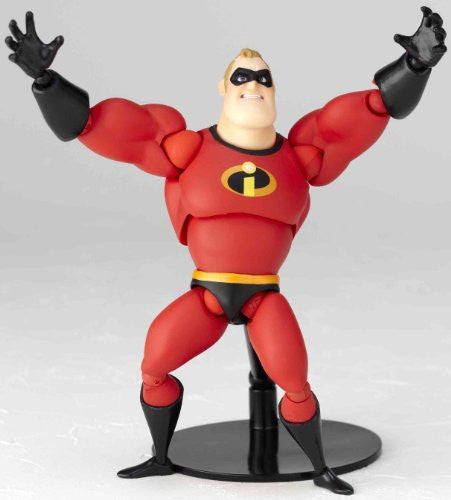 Image 5 for The Incredibles - Mr. Incredible - Revoltech - Revoltech Pixar Figure Collection - 4 (Kaiyodo Pixar The Walt Disney Company)