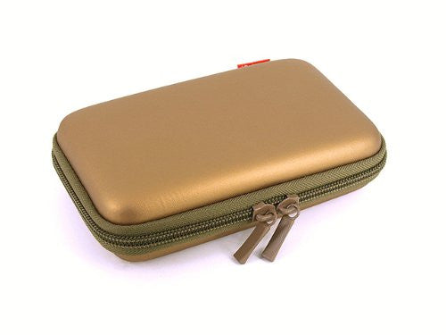 Image 3 for Palette Semi Hard Pouch for 3DS (Dark Gold)
