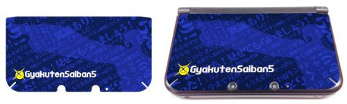 Image 1 for Gyakuten Saiban 5 Sticker for 3DS LL