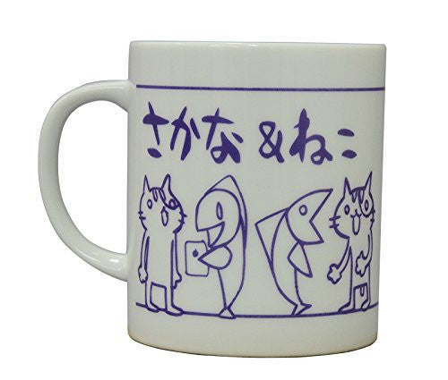 Image 2 for Sakana & Neko - Mug - Purple (Algernon Product)