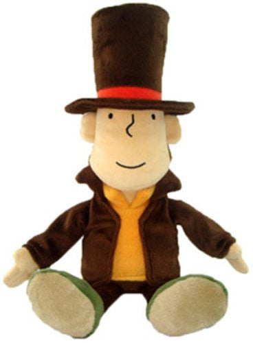 Image 1 for Layton Kyouju to Eien no Utahime - Hershel Layton - Plush (Size Medium) (San-ei)