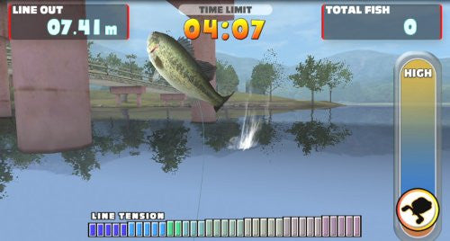 Image 7 for Let's Try Bass Fishing: Fish On Vita