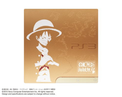 Image 3 for PlayStation3 Slim Console - One Piece: Kaizoku Musou Gold Edition (HDD 320GB Model) - 110V