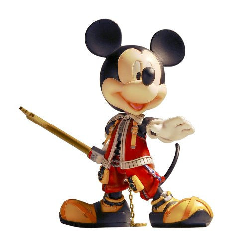 Image 1 for Kingdom Hearts II - King Mickey - Play Arts - Kingdom Hearts II Play Arts Vol.2 - no.6 - Valor Form (Kotobukiya, Square Enix)