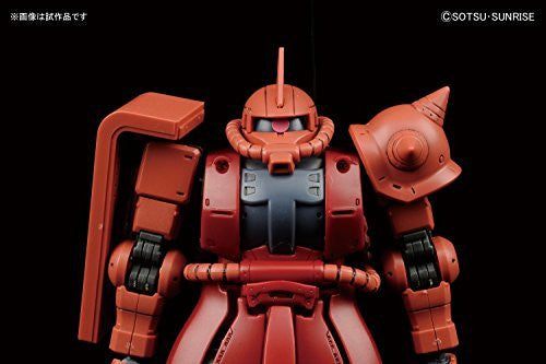 Image 7 for Kidou Senshi Gundam: The Origin - MS-06S Zaku II Commander Type Char Aznable Custom - HG Gundam The Origin - 1/144 (Bandai)
