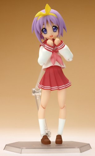 Image 3 for Lucky☆Star - Hiiragi Tsukasa - Figma #012 - Winter School Uniform Ver. (Max Factory)