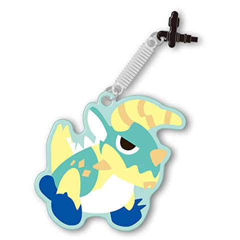 Image for Monster Hunter 4G Pin Jack Mascot Cleaner (Jinouga)