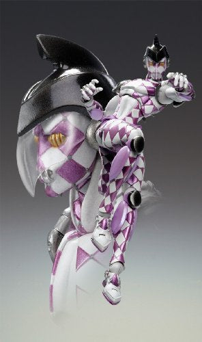 Image 4 for Jojo no Kimyou na Bouken - Vento Aureo - Purple Haze - Super Action Statue #47 (Medicos Entertainment)