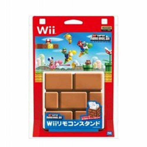 Image 2 for New Super Mario Bros. Wii Remote Stand (Brick Version)