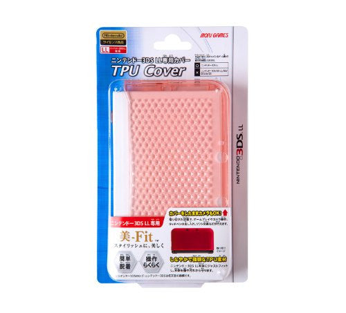 Image 1 for TPU Cover for 3DS LL (Clear Pink)