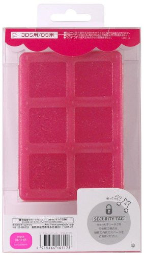 Jewel Card Case (Rose Glitter)