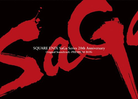 Image for SQUARE ENIX SaGa Series 20th Anniversary Original Soundtrack -PREMIUM BOX-