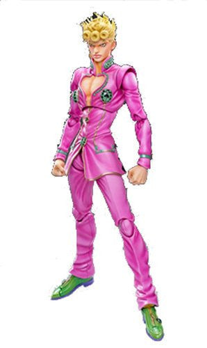 Image 1 for Jojo no Kimyou na Bouken - Ougon no Kaze - Giorno Giovanna - Super Action Statue (Medicos Entertainment)