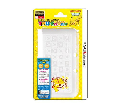 Image 1 for Pocket Monster TPU Cover for 3DS LL [Pikachu Version]