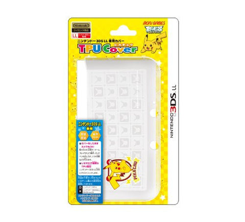 Image for Pocket Monster TPU Cover for 3DS LL [Pikachu Version]