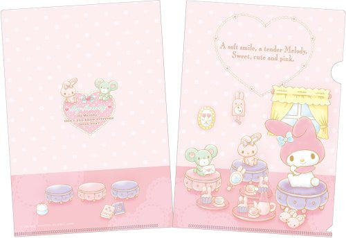 Image 3 for My Melody   Mini Clear File And Nail Seal Book