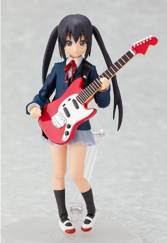 Image 2 for K-ON! - Nakano Azusa - Figma #061 - School Uniform Ver. (Max Factory)