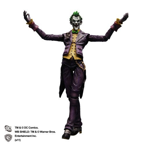 Image 1 for Batman: Arkham Asylum - Joker - Play Arts Kai (Square Enix)