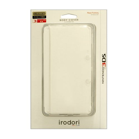Image for Body Cover 3DS (clear)Body Cover 3DS (purple)Body Cover 3DS (white)Body Cover 3DS (black)