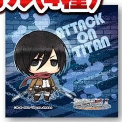 Image 1 for Shingeki no Kyojin - Mikasa Ackerman - Mini Towel - Towel - Chimi (Movic)