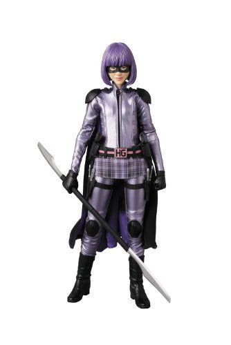 Image 1 for Kick-Ass 2 - Hit-Girl - Real Action Heroes #636 - 1/6 (Medicom Toy)