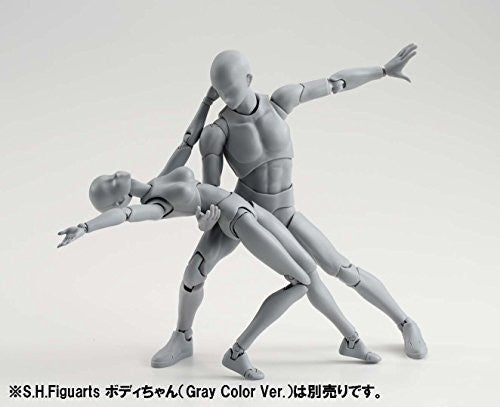 Image 4 for S.H.Figuarts - Body-kun - DX Set, Gray Color Ver. (Bandai)