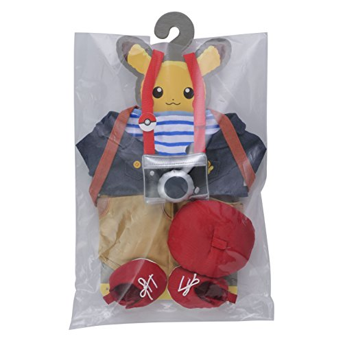 Pocket Monsters - Pikachu's Closet - Plush Clothes - Autumn Set