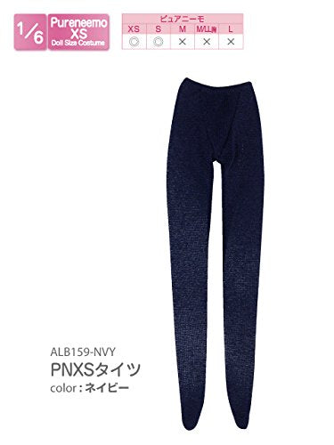 Doll Clothes - Pureneemo Original Costume - PureNeemo XS Size Costume - Tights - 1/6 - Navy (Azone)